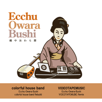 colorful house band/VIDEOTAPEMUSIC - Ecchu-Owara-Bushi colorful house band Rebuild [7inch]