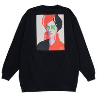 AURA CREWNECK(BLACK)