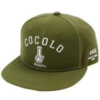 ORIGINAL BONG SNAP BACK CAP (OLIVE GREEN)