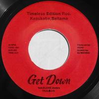 7/22 - TKda黒ぶち / Get Down feat.ELIONE, Zeebra [7inch]