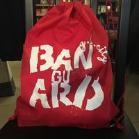 Banguard knapsack (Burgundy&Black&Red)