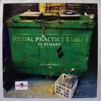 DJ Behard / Usual Prastic Table 01 [MIX CD]