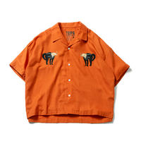 CAT WOMAN SHIRT (ORANGE)