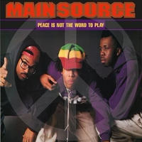 2月下旬入荷予定 - MAIN SOURCE / PEACE IS NOT THE WORD TO PLAY [7inch]