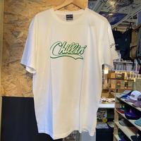 -PRILLMAL- Chillin'!!! S/S T-SHIRTS (white×green)