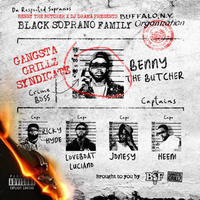 2月下旬入荷予定 - BENNY THE BUTCHER & DJ DRAMA / BLACK SOPRANO FAMILY [LP]