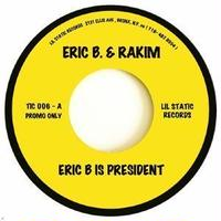 9月下旬入荷予定 - ERIC B & RAKIM / MOUNTAIN - ERIC B IS PRESIDENT / LONG RED [7inch]