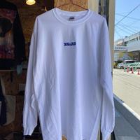 BNGRD L/S tee (White/Blue)