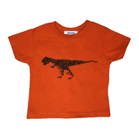 "CHILLSULL""Rex Tee"" / ORANGE(KIDS)"
