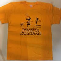 ROLLERS / PIECEFUL WARRIORS 2nd S/S Tee . yellow