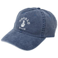 CLASSIC BONG 6PANELS CAP (WASH BLUE)