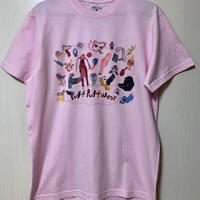 yokai_puff_cloud TEE (LIGHT PINK)