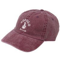 CLASSIC BONG 6PANELS CAP (WASH RED)