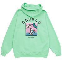 COCOLO BLAND x 5el HOODIE (MINT)