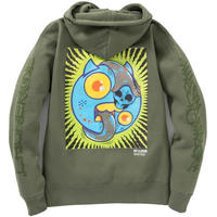 MAD BROTHERS HEAVY HOODIE (OLIVE)