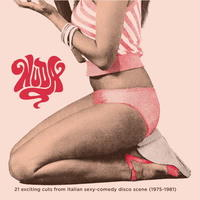 V.A / NUDA - 21 exciting cuts from Italian sexy-comedy disco scene (1975-1981) [2LP]