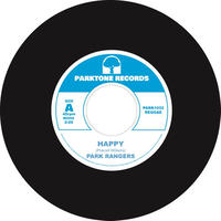 PARK RANGERS / Happy-Kiss [7inch]