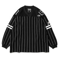 11月入荷予定 - GANGSTA HOCKEY SHIRT / TBKB (BLACK)