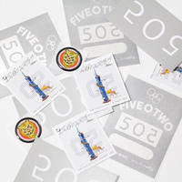 5O2 STICKER SET [4pic Set]