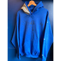 """Adult S kipper"" 8oz hoodie (blue) -size L only-"