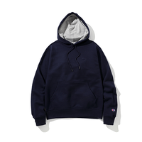 Champion / Power Blend Pullover Hoodie -Navy-