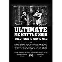 V.A / ULTIMATE MC BATTLE 2018 THE CHOICE IS YOURS VOL. 2 [DVD]