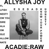 ALLYSHA JOY / ACADIE: RAW [CD]