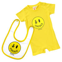 SMILEY BONG BABY SET (YELLOW)