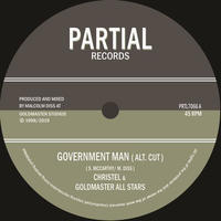 CHRISTEL & GOLDMASTER ALL STARS / GOVERNMENT MAN [7inch]