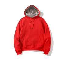 Champion / Power Blend Pullover Hoodie -Red-