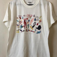 yokai_puff_cloud TEE (VANILLA WHITE)