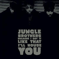 RSD2020 - Jungle Brothers / BECAUSE I GOT IT LIKE THAT b/w I'LL HOUSE YOU [7inch]