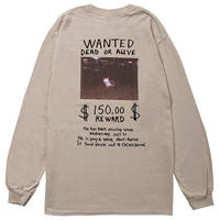 MISSING CAT L/S TEE(SAND)