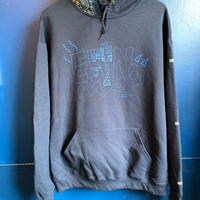"""Adult S kipper"" 8oz hoodie (Navy) -size L only-"