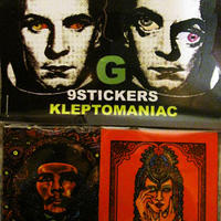 KLEPTOMANIAC / 9 STICKERS TYPE G [STCIKER]