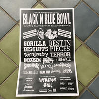 BLACK N BLUE BOWL POSTER -2017-