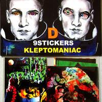 KLEPTOMANIAC/ 9 STICKERS TYPE D [STICKER]