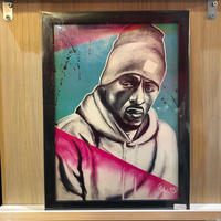 Paint Rakim Print A4(Black Flame)