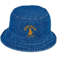 DENIM BUCKET HAT (DARK BLUE)
