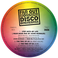 AR OUT MONSTER DISCO ORCHESTRA/STEP INTO MY LIFE (REMIX) / TWO OF US [12INCH]