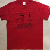 ROLLERS / PIECEFUL WARRIORS S/S Tee . Red