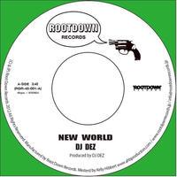 DJ Dez / New World - Brain 1(Green Vinyl) [7INCH]