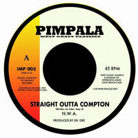 N.W.A. / ABOVE THE LAW - STRAIGHT OUTTA COMPTON / BLACK SUPERMAN [7inch]