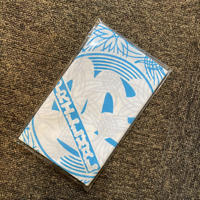 Prillmal / REAL EDO.OG INVERSION -手拭い - (WHITE/CARIBBEAN BLUE)