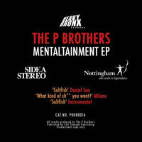 P BROTHERS / MENTALTAINMENT EP [LP]