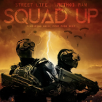 METHOD MAN x STREET LIFE / SQUAD UP b/w INSTRUMENTAL [7inch]