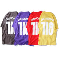 7I0 T-SHIRTS (HIGH RED/VIOLET PURPLE/BANANA/CHACOAL)