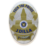 J DILLA / FUCK THE POLICE : BADGE SHAPED [7inch]