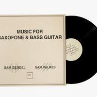 Sam Gendel & Sam Wilkes / Music for Saxofone and Bass Guitar [LP]