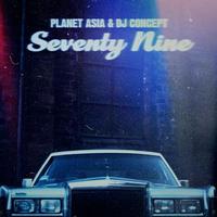 Planet Asia & DJ Concept / Seventy Nine (Alternate Cover Repress) [LP]